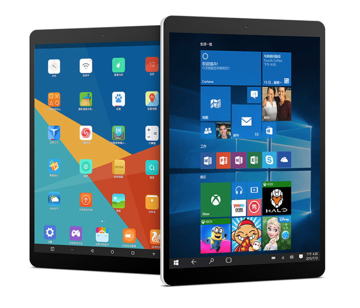 Teclast X89 Kindow E-kitap Okuyucu 7.5 inç Çift OS Windows 10 & Android 4.4 Intel Bay Trail Z3735F 2G + 32G Quad Core Tablet PC