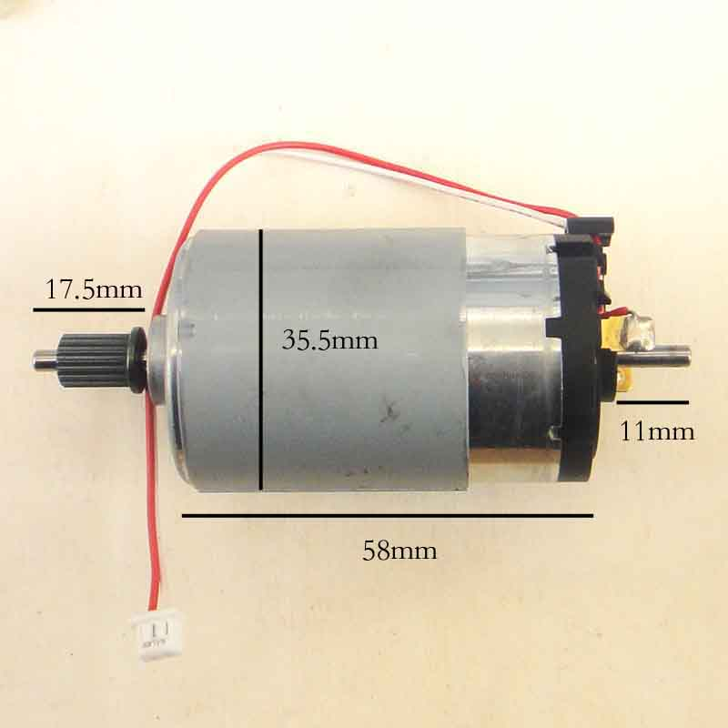 NEW 545 DC Motor High Torque Low Noise Wind Generator for Science Experiments 2100rpm to 5000 rpm