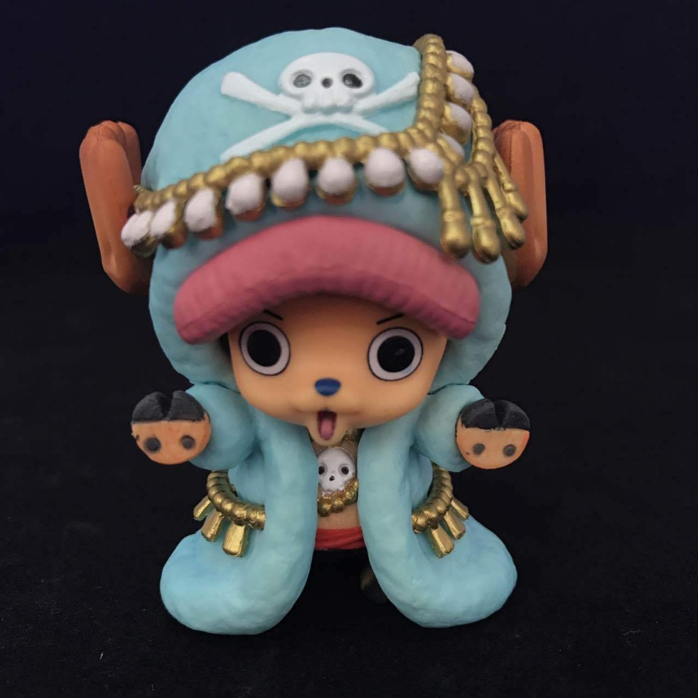 One Piece Chopper Rakam Tony Tony Chopper 20 Yıl Annivesary Ver 7 CM Action Figure Oyuncak Modeli una pieza